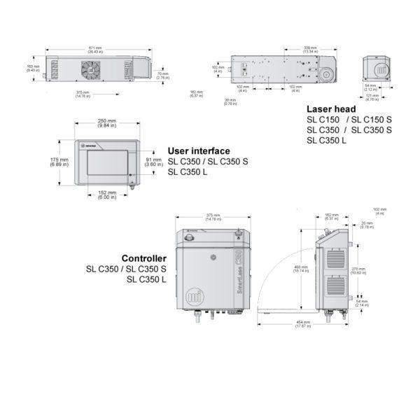 LASER SMARTLASE C150 C350 TD