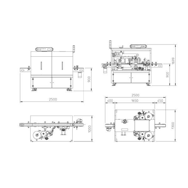 LINEAR LABELLING SYSTEMS ALLINE TD