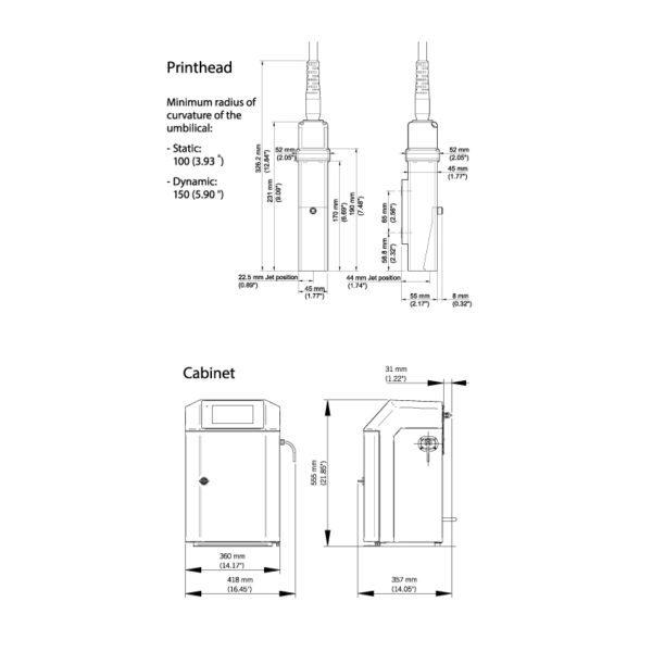 SMALL CHARACTER INKJET 9410 TD