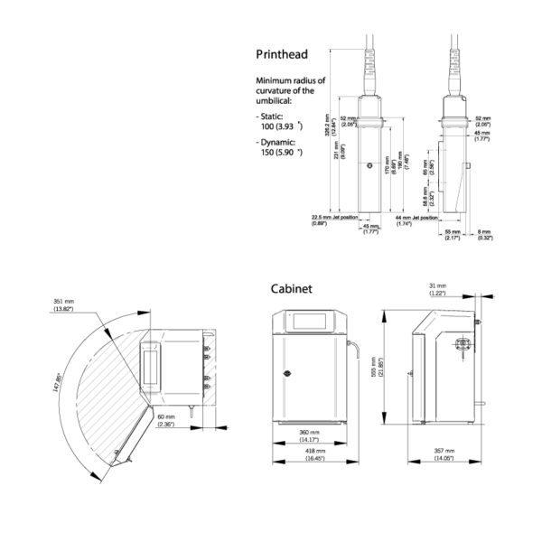 SMALL CHARACTER INKJET 9450 TD