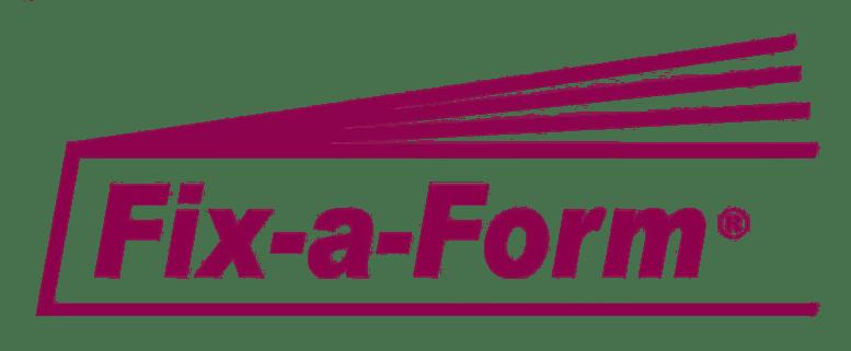 fix a form
