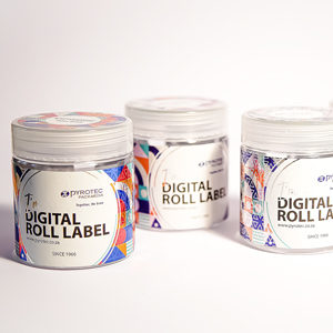 Pyrotec Digital Roll Label carousel